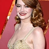 Emma Stone Does All-Copper Everything For Her Oscars Beauty Look