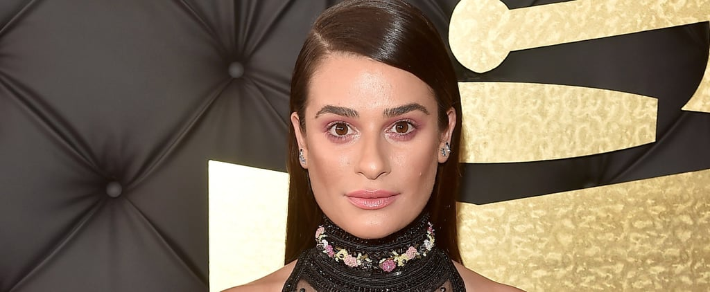 """Lea Michele Is the Latest Celebrity to Try the """"Pink-Eye"""" Craze"""