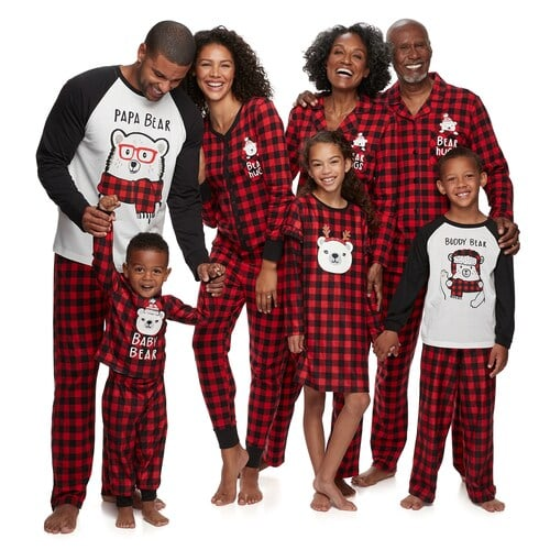 Jammies For Your Families Cool Bear Family Pajamas Collection