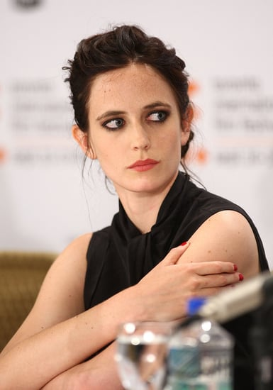 Eva Green speaks onstage at the ''Cracks'' press conference in Toronto