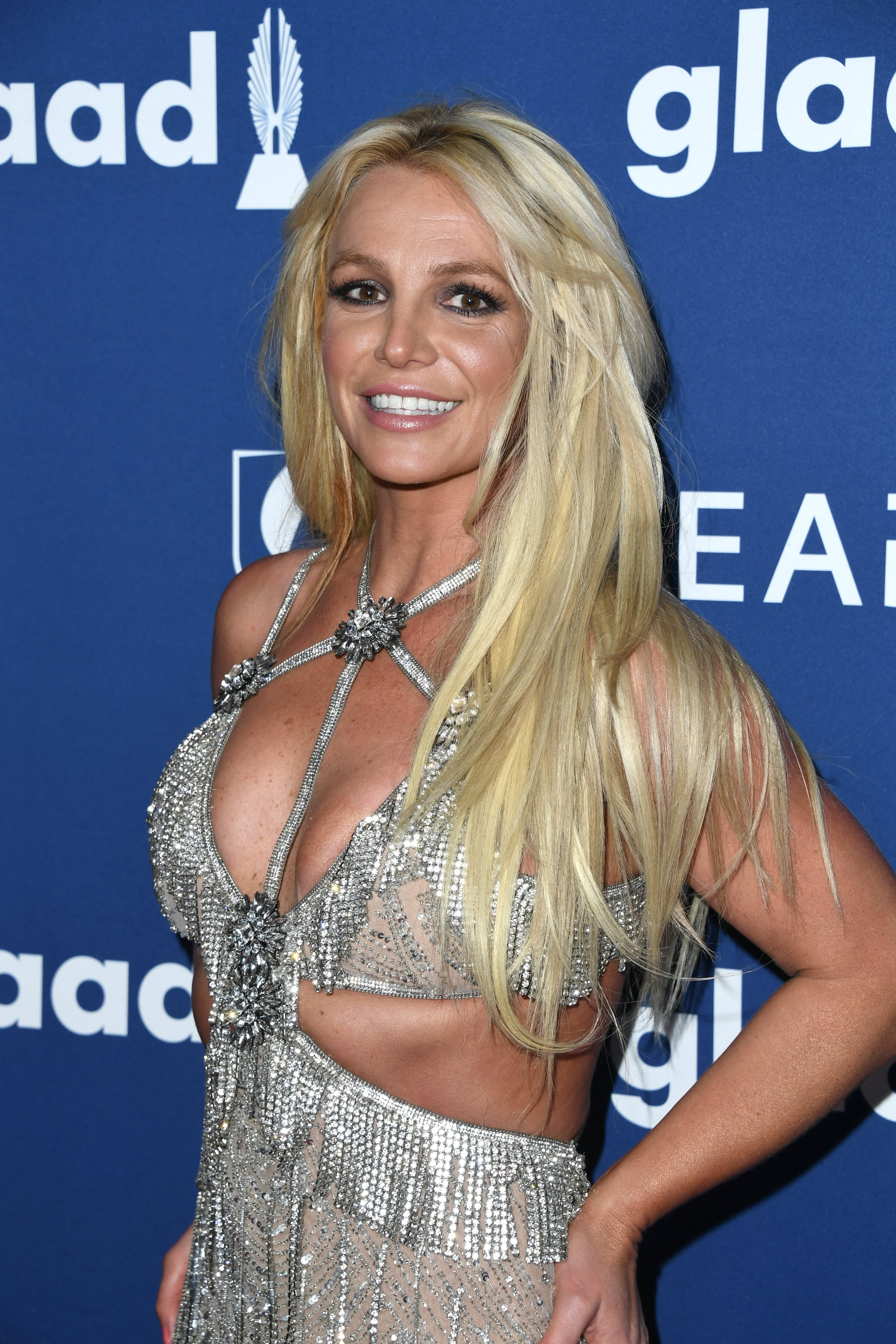 BEVERLY HILLS, CA - APRIL 12:  Honoree Britney Spears attends the 29th Annual GLAAD Media Awards at The Beverly Hilton Hotel on April 12, 2018 in Beverly Hills, California.  (Photo by Jon Kopaloff/FilmMagic)