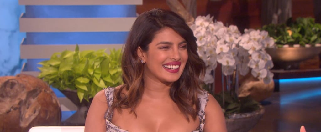 Priyanka Chopra on The Ellen DeGeneres Show January 2019