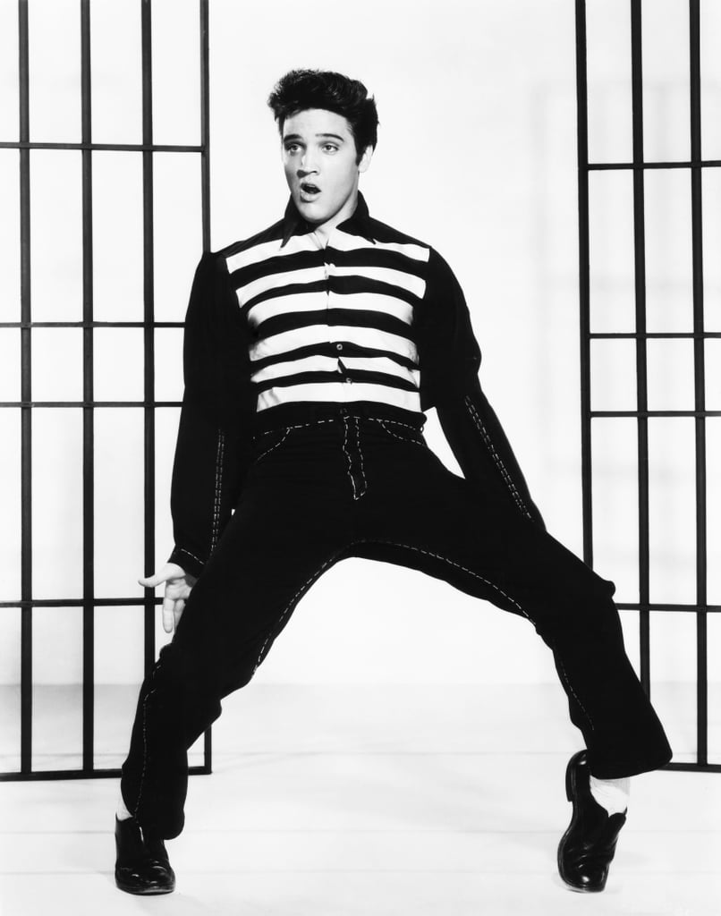 the rock jail_Jailhouse Rock, 1957 | How Many Movies Was Elvis Presley In? | POPSUGAR Entertainment ...