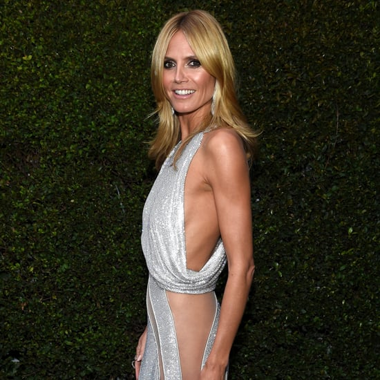 Heidi Klum Dress at Oscars Afterparty 2015