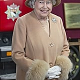 Queen Elizabeth formally opened the New South Lynn Fire Station on Monday in Norfolk, England.