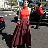 Michelle Dockery Leaves Downton Drama For Emmys Glamour