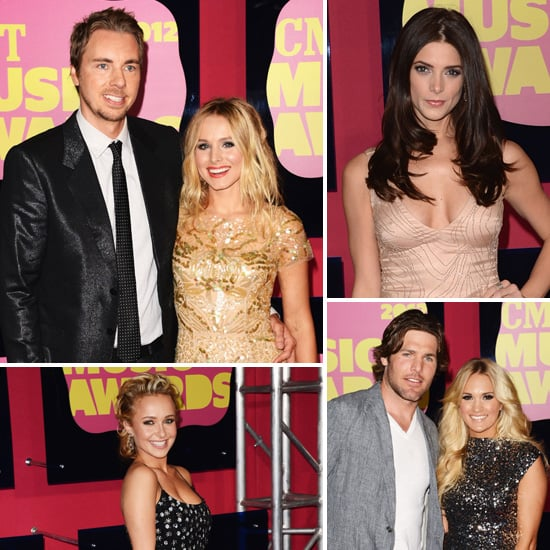 Kristen, Carrie, Ashley and More Sparkle at the CMT Music Awards