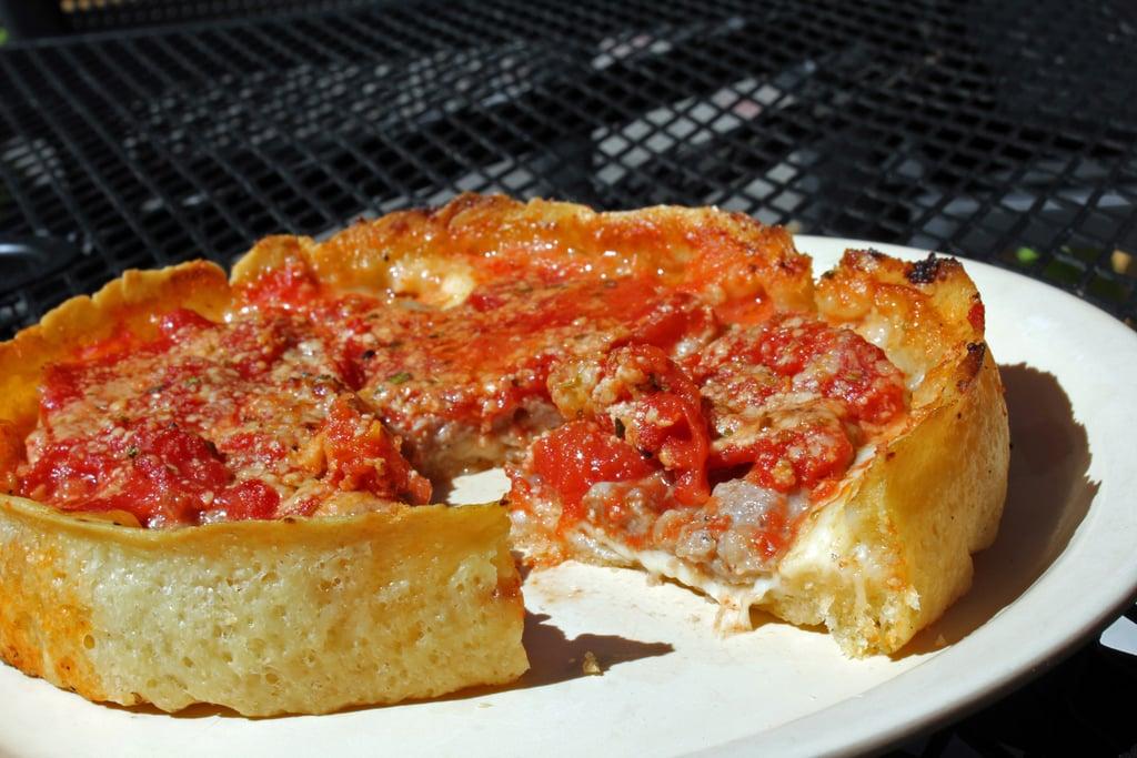 Illinois: Deep Dish Pizza