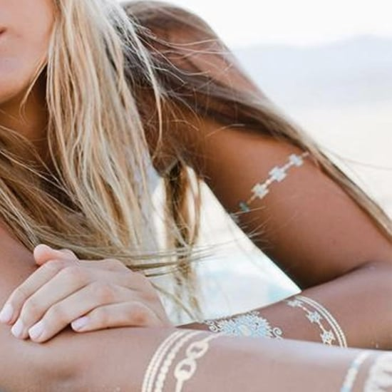 Ways to Wear Metallic Tattoos