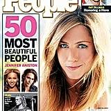 Jennifer Aniston topped <b>People</b>'s Most Beautiful list.