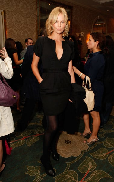 Charlize, Anne and Jessica at V-Day Event