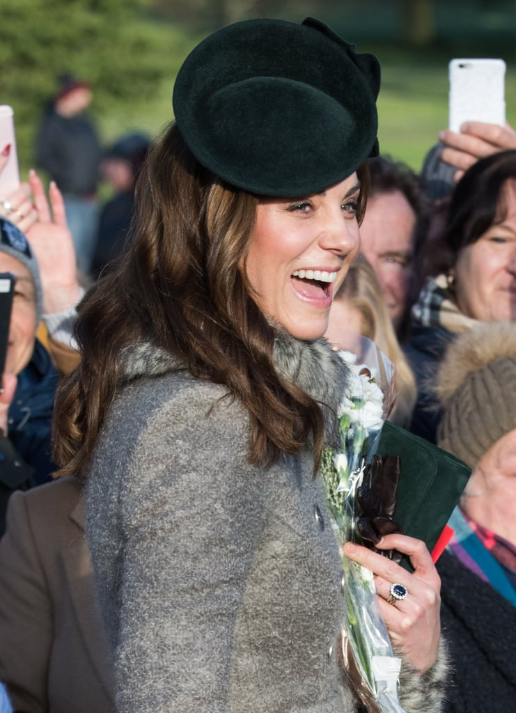 Kate Middleton's Rope-y Christmas Waves, 2019