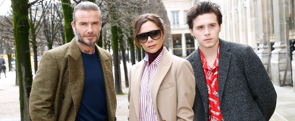 Victoria Beckham at Louis Vuitton Show in Paris