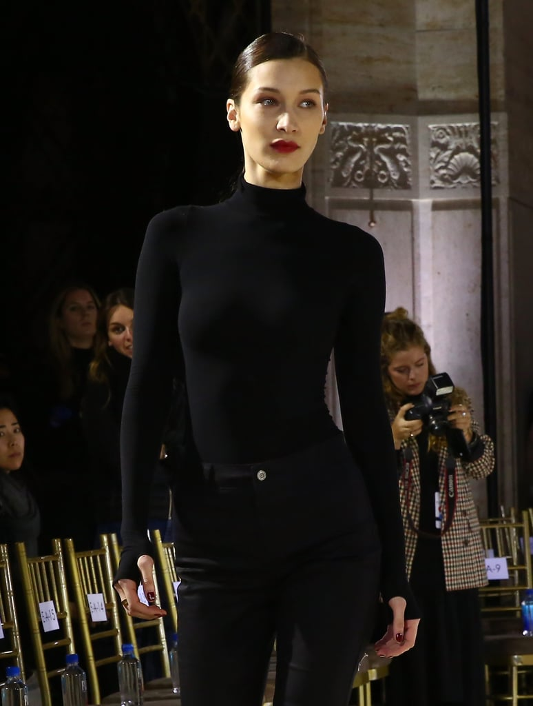 Bella Hadid Rehearsing For the Oscar de la Renta Show at NYFW February 2019