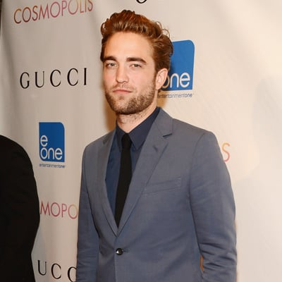 Robert Pattinson Pictures at NYC Cosmopolis Premiere