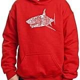 Pop Art Popular Species of Shark Hoodie