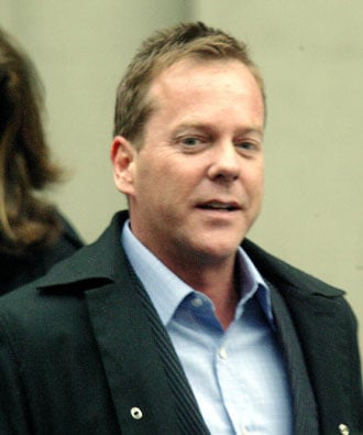Photos of Kiefer Sutherland in NYC, His Lawyers Deny Rumors, Brooke Shields Calls Him Gentleman