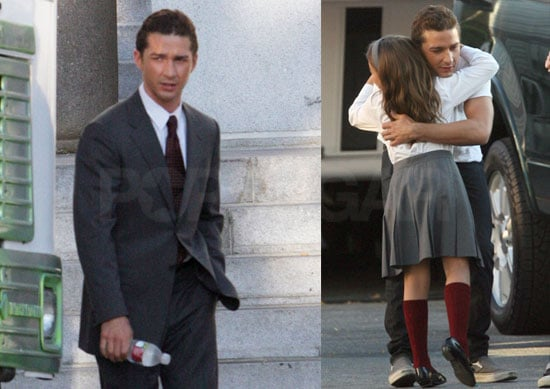 Photos of Shia LaBeouf on the Set of Eagle Eye