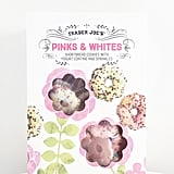 Pick Up: Pinks and Whites: Shortbread Cookies With Yogurt Coating and Sprinkles ($3)