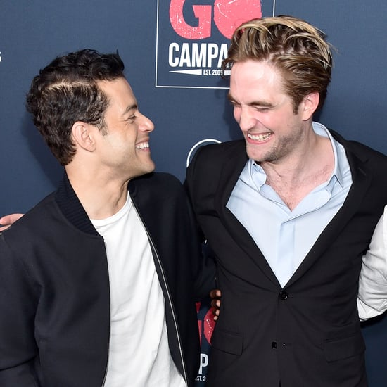 Robert Pattinson and Rami Malek at Go Gala Pictures