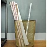 Gilded Wastebasket