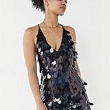 Motel Finn Galaxy Sequin Mini Dress