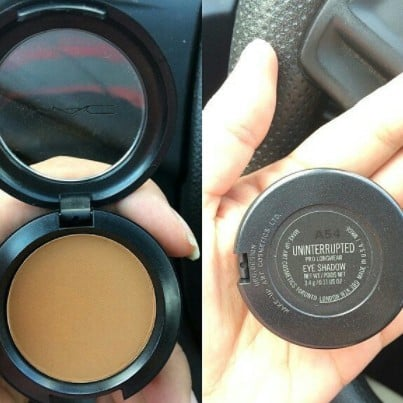 MAC Uninterrupted Eye Shadow Is Coming Back