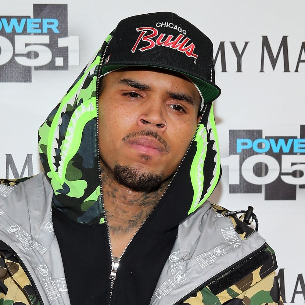 chris brown popsugar celebrity