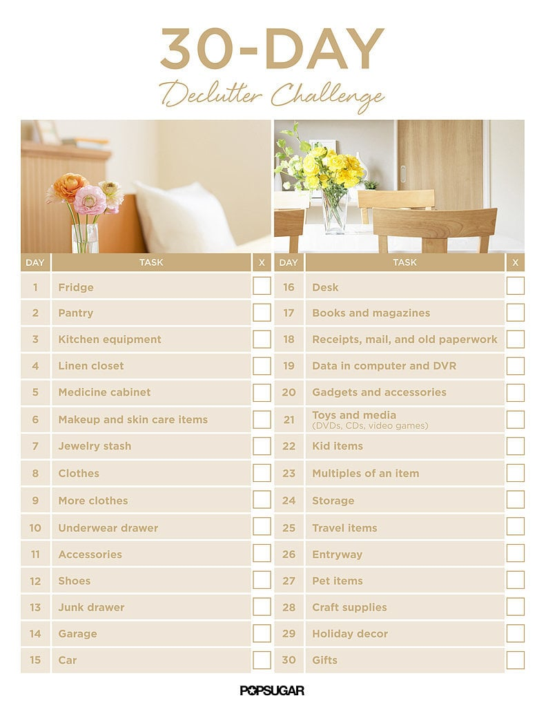 The 30 Day Organizing Challenge Can Be Tackled Within Days