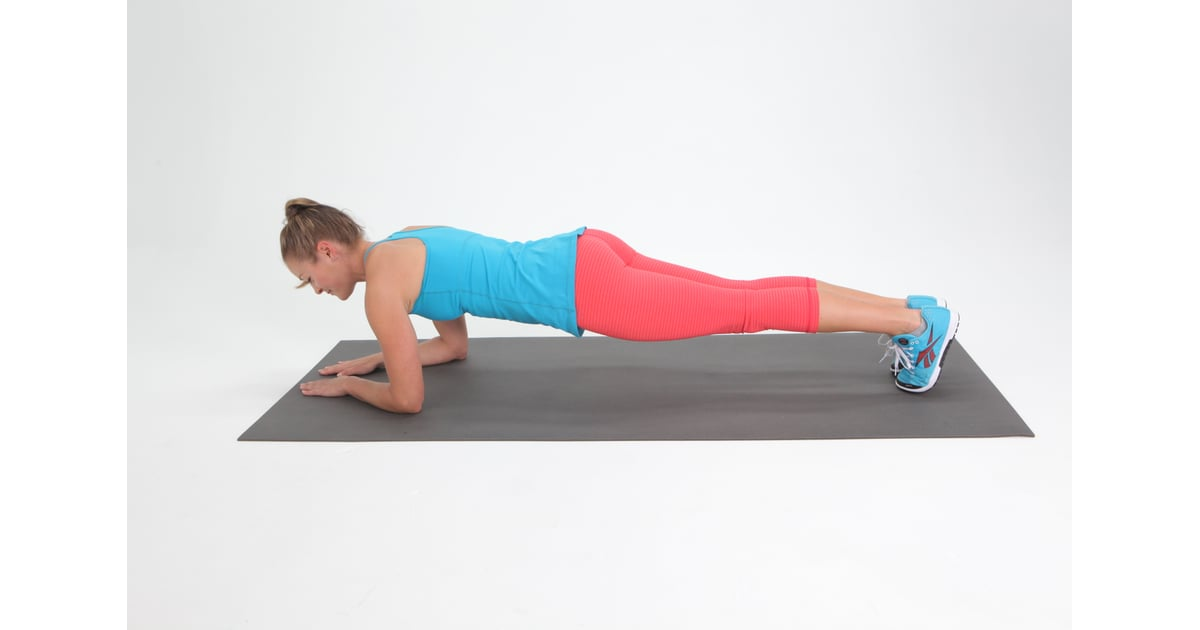 Plank 7 Minute Hiit Workout Popsugar Fitness Photo 8