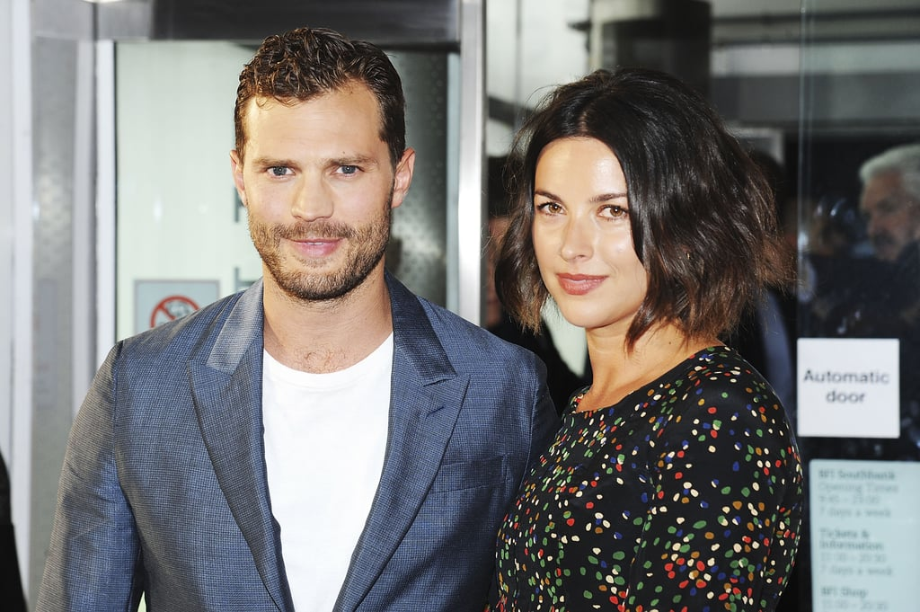 Jamie Dornan And His Wife At Anthropoid Uk Premiere 2016