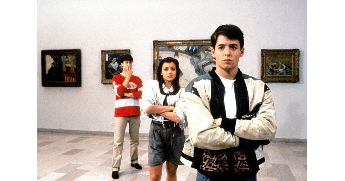 ferris sloane and cameron from ferris bueller 39 s day off. Black Bedroom Furniture Sets. Home Design Ideas