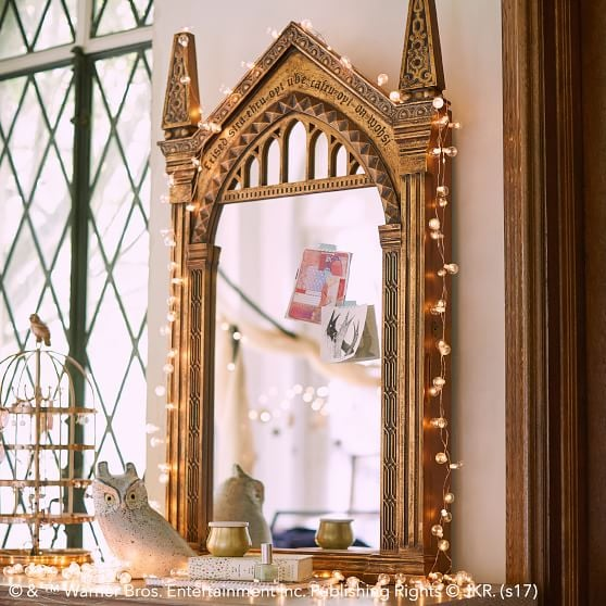 2. Encourage Imagination (and Illumination) With a Mesmerizing Mirror
