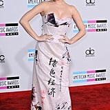 Katy Perry rocked pink hair in 2011.