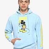 Disney Mickey Mouse Check-Sleeve Hoodie