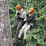 Prince William Kate Midddleton Climb in Borneo | Pictures