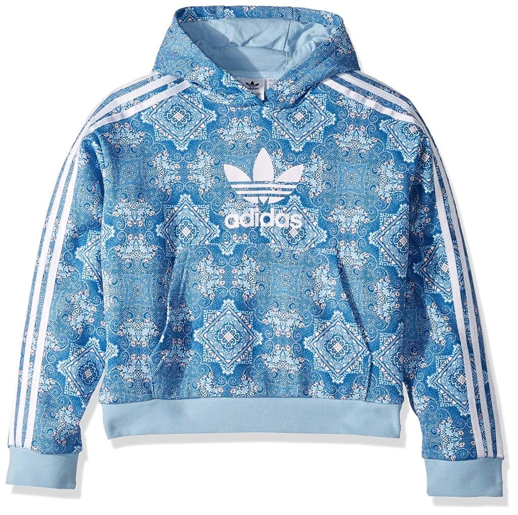 Adidas Originals Girls' Big Crop Hoodie