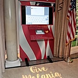 """An Up-Close Look at the """"Give Melania a Voice"""" Station"""