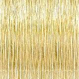 Gold Foil Curtain ($7)