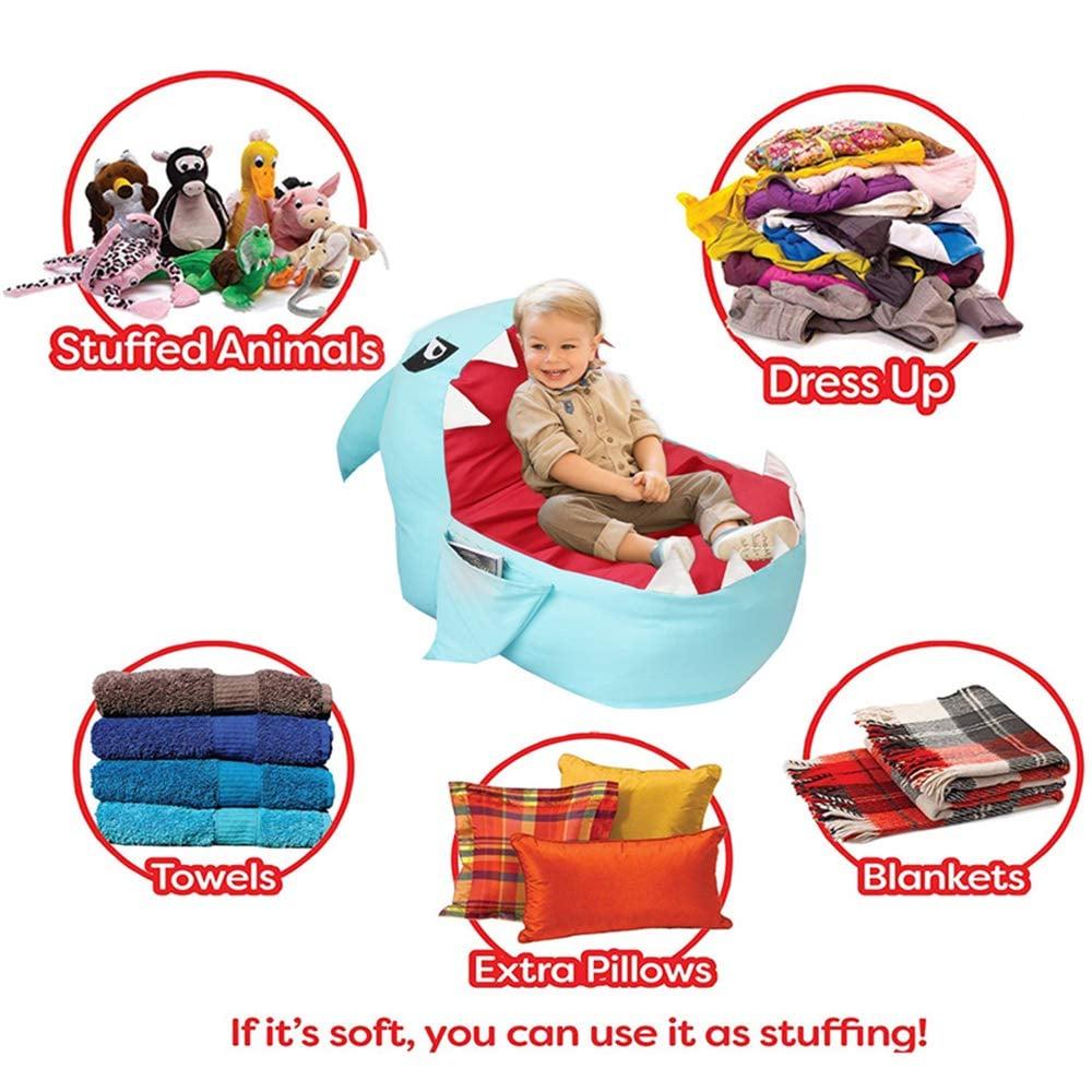 You Can Stuff The Lmeison Animal Storage Bean Bag Chair