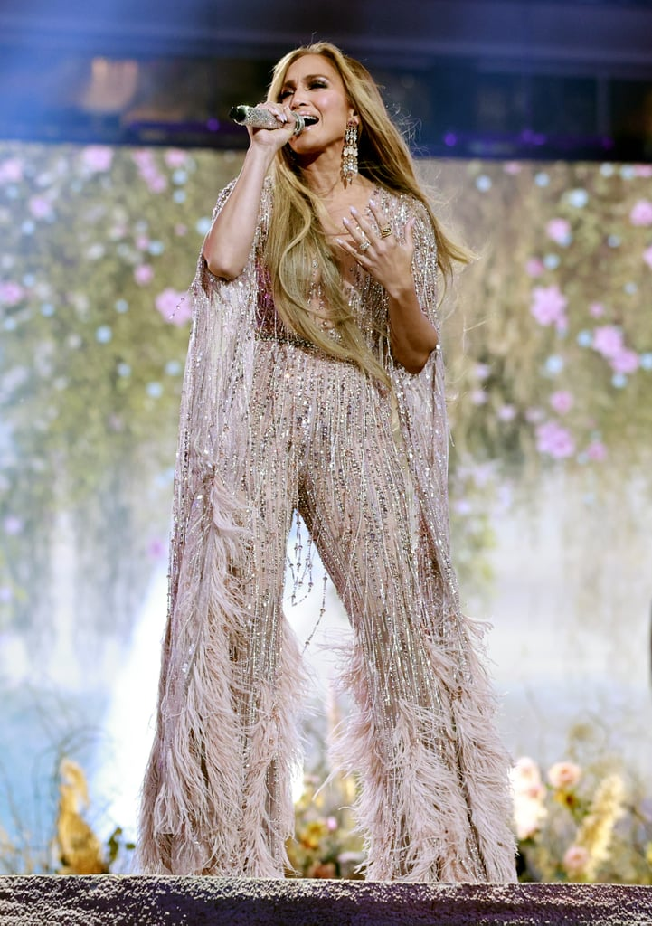 J Lo's Zuhair Murad Couture Jumpsuit at the Global Citizen Concert