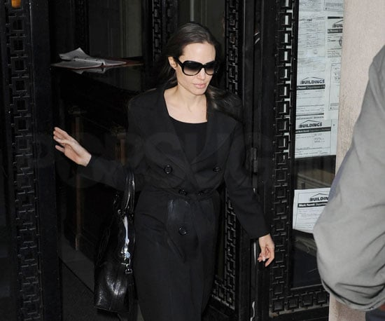 Photo of Angelina Jolie Leaving Her NYC Apartment