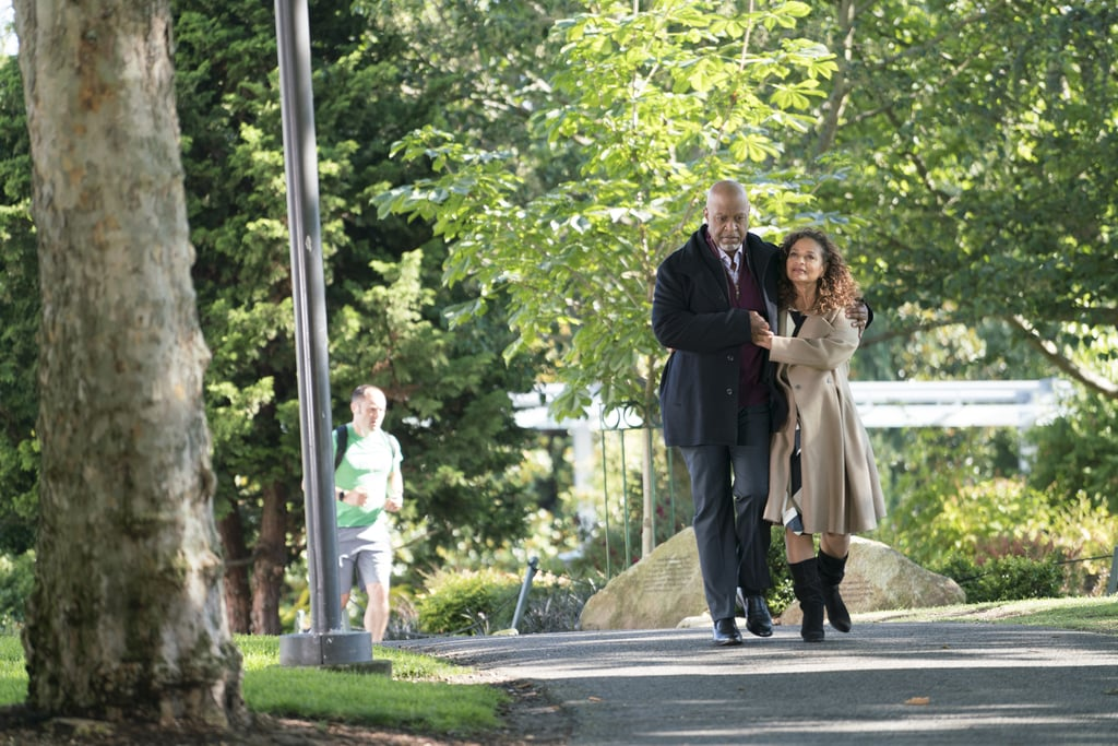 Dr. Richard Webber and Dr. Catherine Avery tie the knot