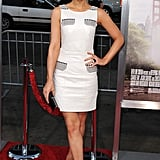 Kate Beckinsale was part mod, part modern in her Versace resort dress at the Going the Distance premiere.