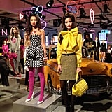 The Kate Spade 20th anniversary collection was an homage to 1960s New York City.