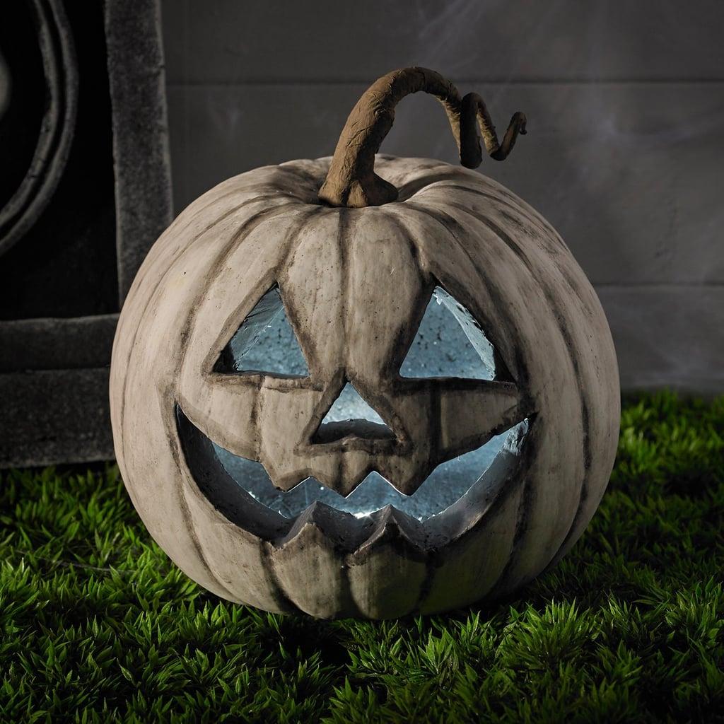 White Led Battery Operated Halloween Pumpkin Best Halloween