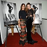 Miranda Kerr was on hand to celebrate the Mademoiselle C screening alongside the woman of the hour, Carine Roitfeld.