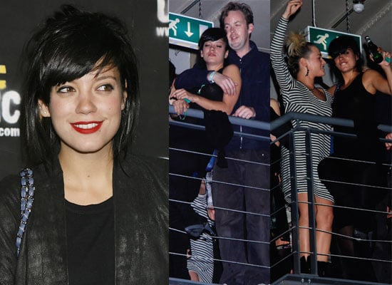 Gallery of Pictures: Lily Allen and Sam Cooper Dancing At Diesel Party, Kaya Scodelario Diesel Party, Bonnie Wright Diesel Party
