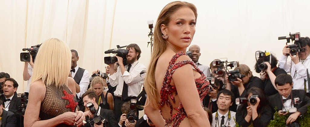 Every Single Naked Dress Jennifer Lopez Has Worn Since 1997