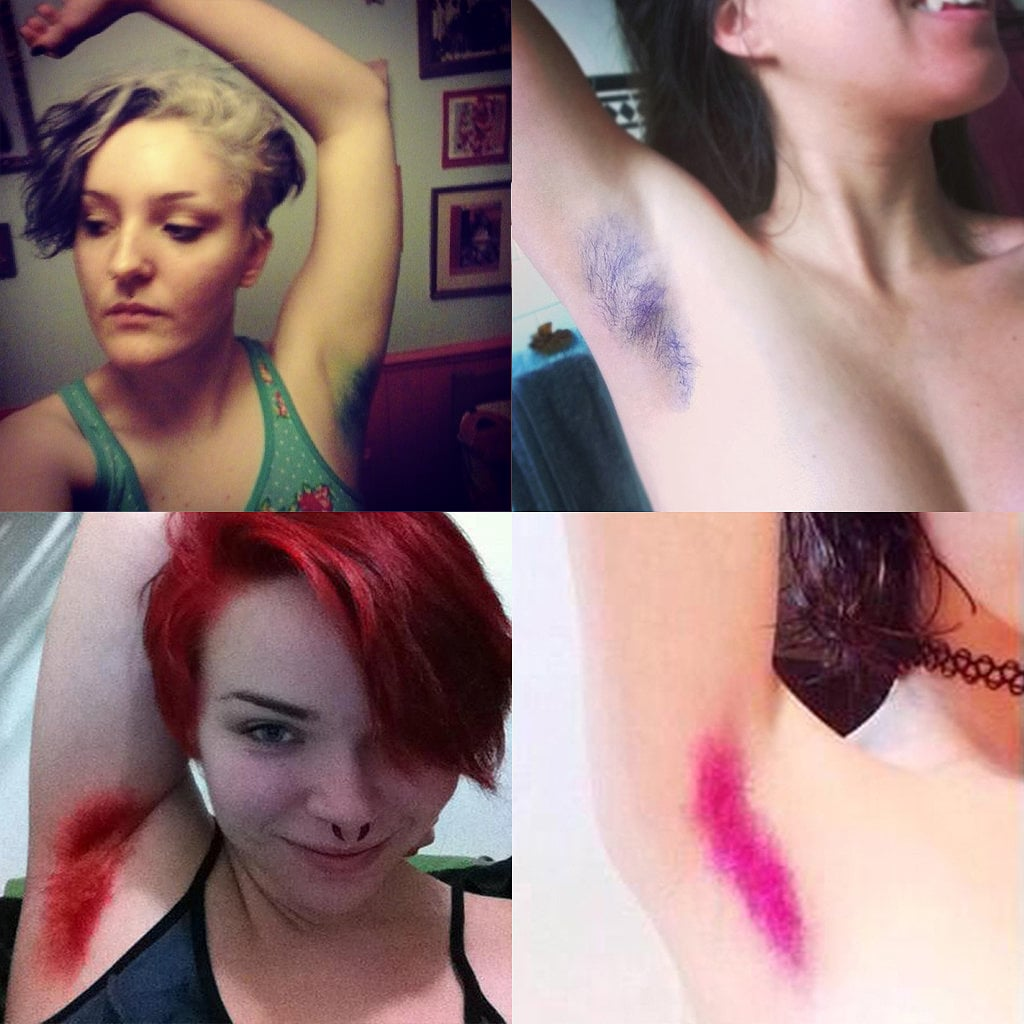 Dyeing Your Armpits Bright Colours Is Now a Thing